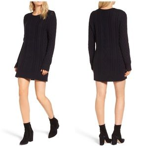 NWT Rails Jesse Cable Knit Sweater Dress